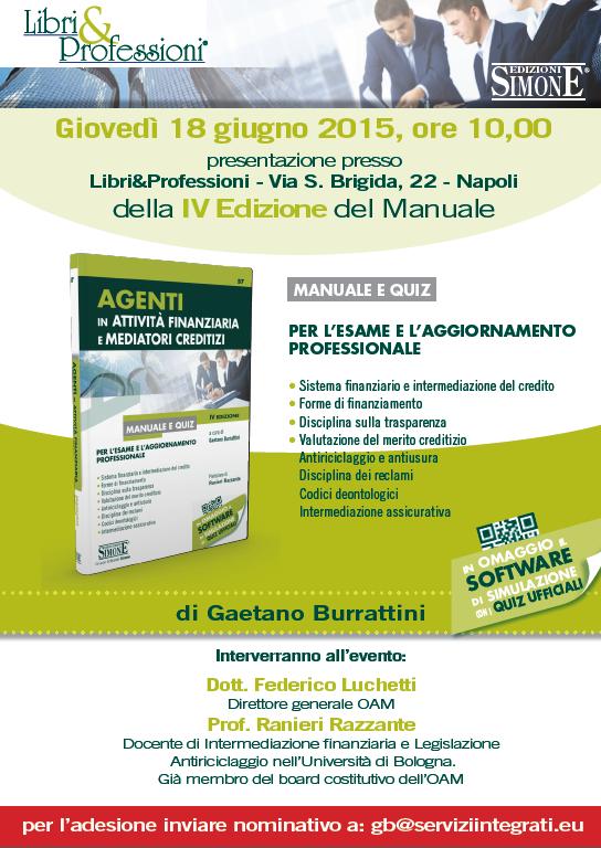 Locandina convegno nuovo manuale Esame OAM