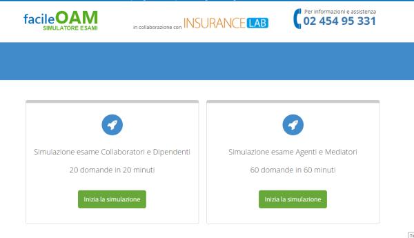 Simulatore OAM Agenti e Mediatori - Dipendenti e Collaboratori